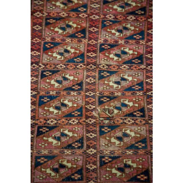 """Antique Turkmen Square Rug - 2'8"""" X 3'1"""" - Image 7 of 9"""