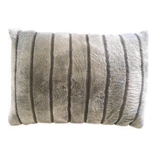 Pottery Barn Faux Fur Pillow For Sale