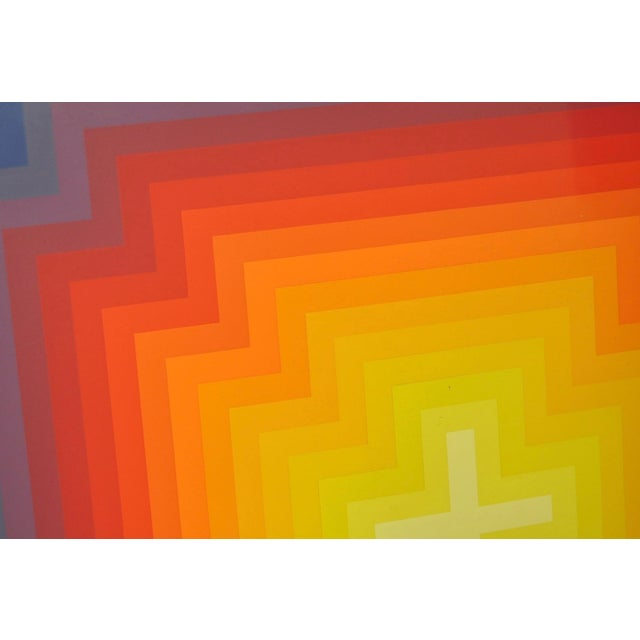 Jurgen Peters Op Art Serigraph C.1970's - Image 4 of 7