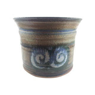 Jardiniere Geometric Pottery For Sale