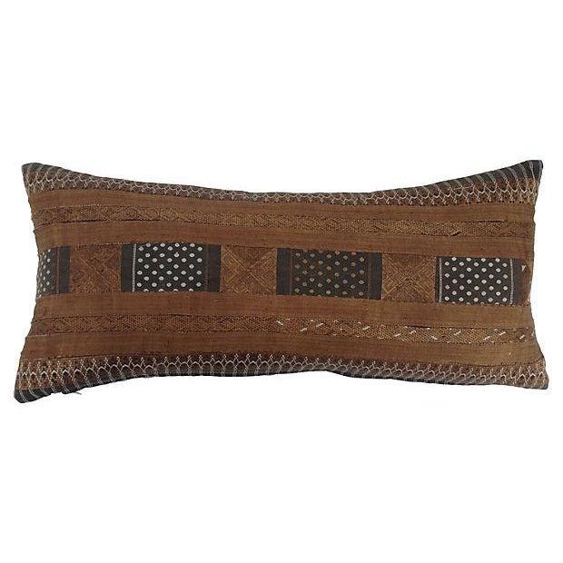 Silk Hill Tribe Lumbar Pillow - Image 3 of 4