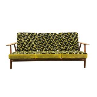 Hans Wegner Ge-240/3 Sofa in Oak For Sale