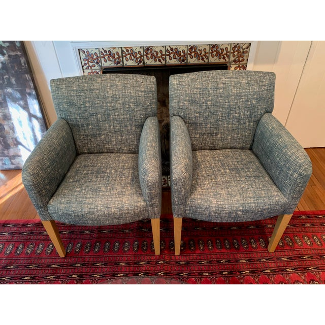 Vintage Donghia Club Chairs - a Pair For Sale - Image 10 of 10