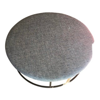 Modern Mitchell Gold + Bob Williams Ottoman For Sale