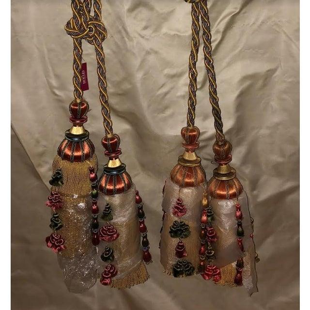 Cotton Houlès Paris Antica Tassels Tieback For Sale - Image 7 of 12