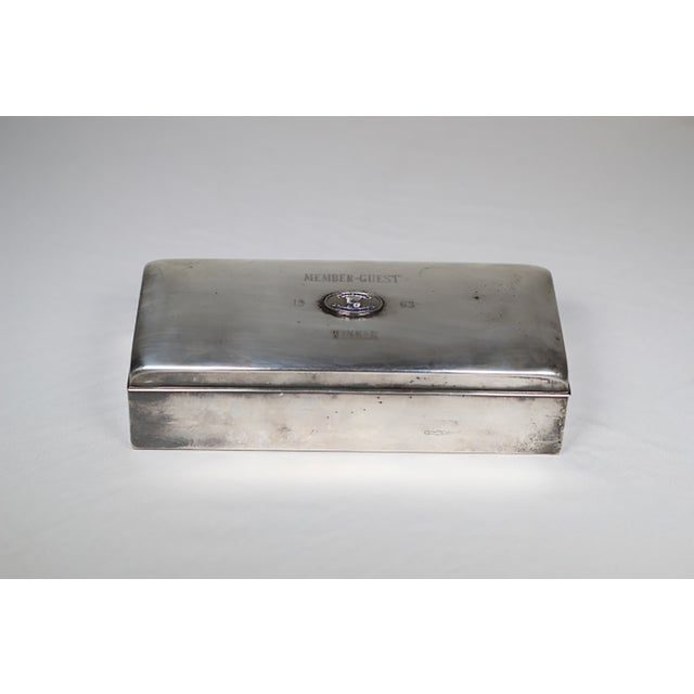 Mid-Century Silver Plated Box - Image 3 of 5