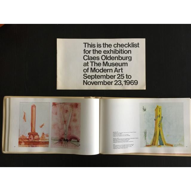"1969 Claes Oldenburg ""Soft Sculpture"" Exhibition Catalog - Image 10 of 11"
