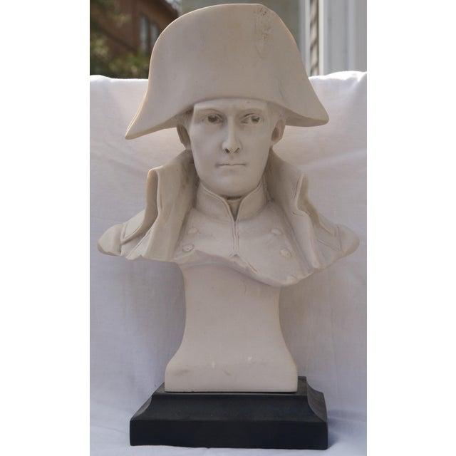 Antique Parian Bust of Napoleon Bonaparte For Sale - Image 13 of 13
