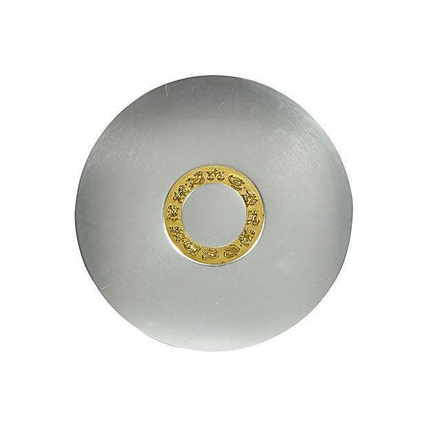 Art Deco Aluminum Zodiac Serving Tray For Sale In Boston - Image 6 of 6