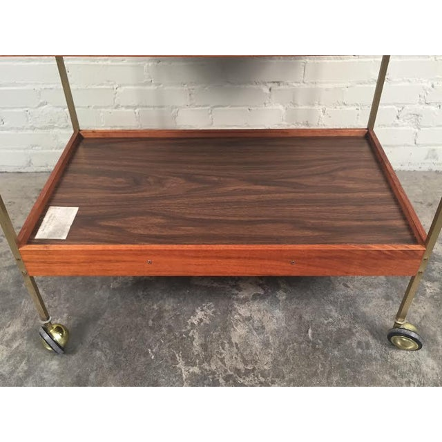 Mid-Century Modern Salton Hot Tray Cart For Sale - Image 9 of 9