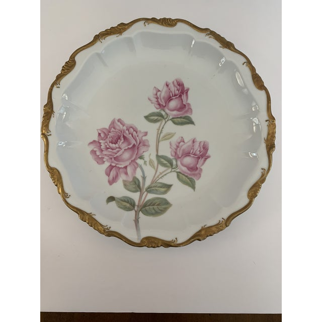 Late 19th Century Antique R. C. Crown Bavaria Plate For Sale In Detroit - Image 6 of 9