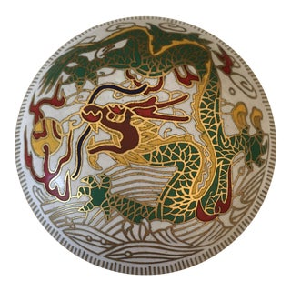 Cloisonné Dragon Pill Box For Sale