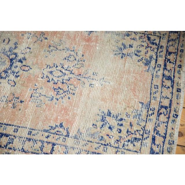 "Textile Vintage Distressed Oushak Rug Runner - 2'7"" X 4'9"" For Sale - Image 7 of 12"