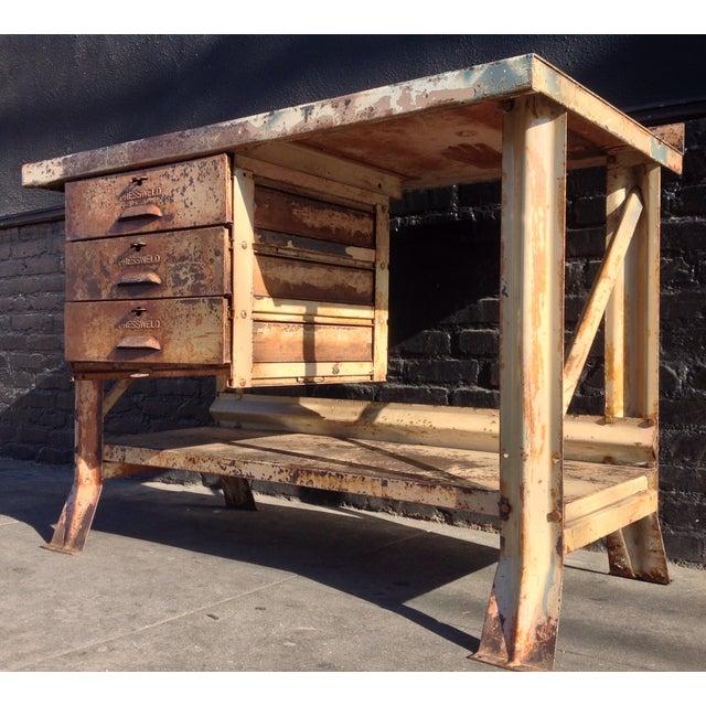 Industrial Desk - Image 3 of 7