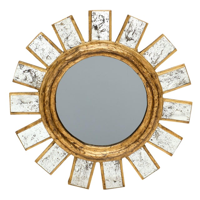 French Sunburst Mirror For Sale - Image 11 of 11