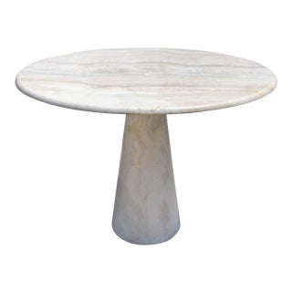 1970s Italian Marble Dining Table Attributed to Angelo Mangiarotti For Sale