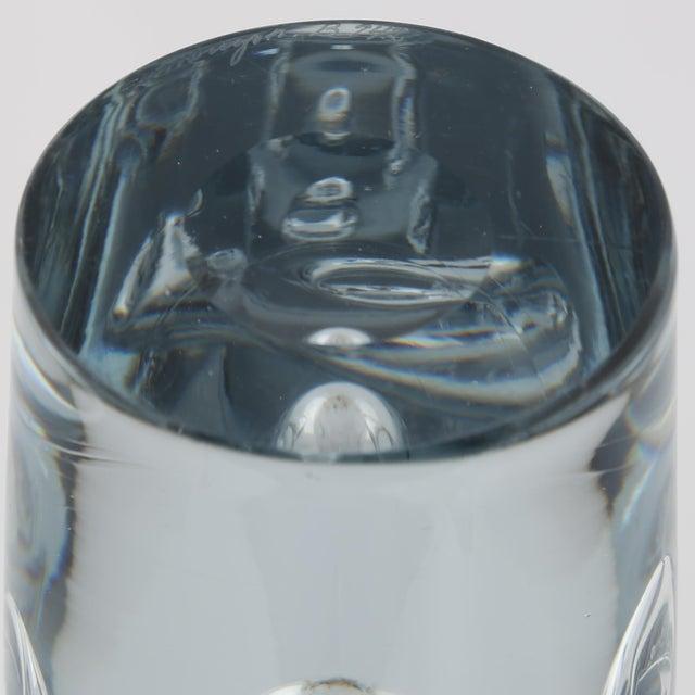 1950's VINTAGE STROMBERGSHYTTAN GLASS VASE For Sale - Image 10 of 10