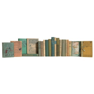 Vintage Wheat Grass Children's Book Set, (S/20) For Sale