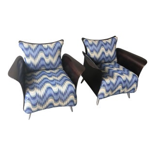 Keilhauser Mid-Century Modern Belle Lounge Chairs - a Pair