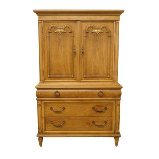 20th Century Traditional Thomasville Furniture Monteverdi Collection Door Chest For Sale