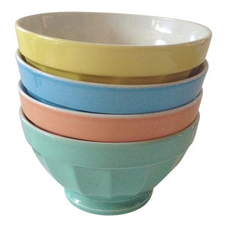 Italian Cappuccino Bowls, Set of 4 For Sale