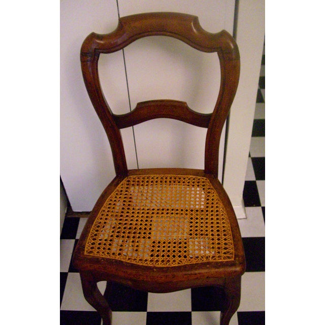 19th-C. English Balloon-Back Side Chair - Image 3 of 5