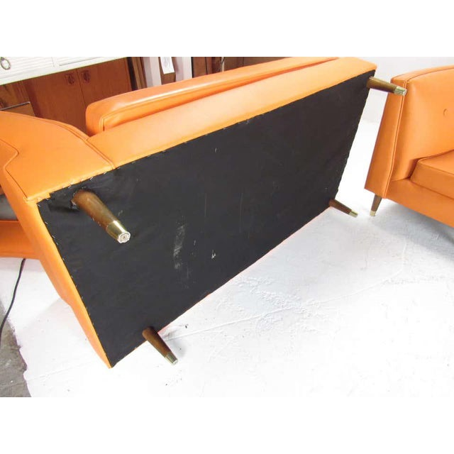 Mid-Century Modern Three-Piece Sectional Sofa For Sale - Image 12 of 13