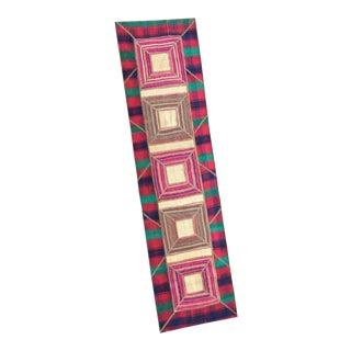 Flat Weave Persian Kilim Patchwork Runner Rug - 2′3″ × 8′5″