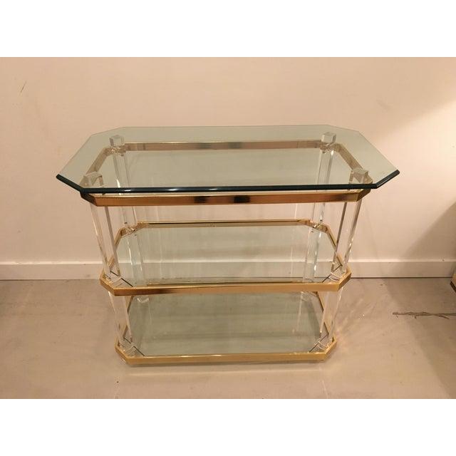Vintage three tier table - Image 8 of 8