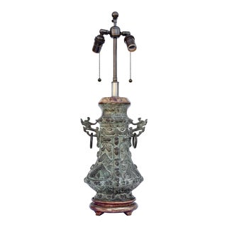 Bronze Table Lamp For Sale