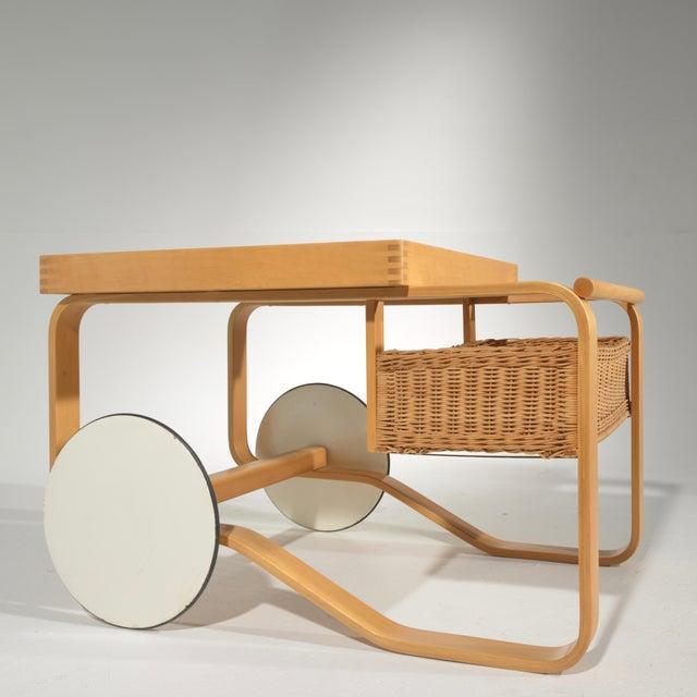 Alvar Aalto for Artek Tea Cart Model 900 For Sale - Image 9 of 13
