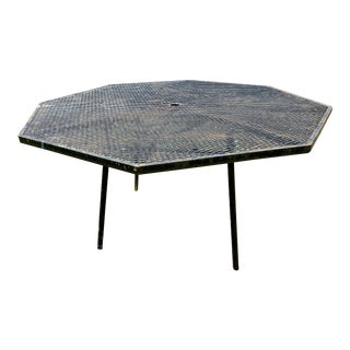 Woodard Sculptura Dining Table For Sale