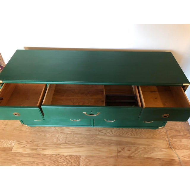 1960s Campaign Drexel Accolade Dresser For Sale In Philadelphia - Image 6 of 10