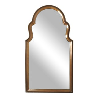 Moorish Giltwood Arched Mirror Attributed to La Barge For Sale