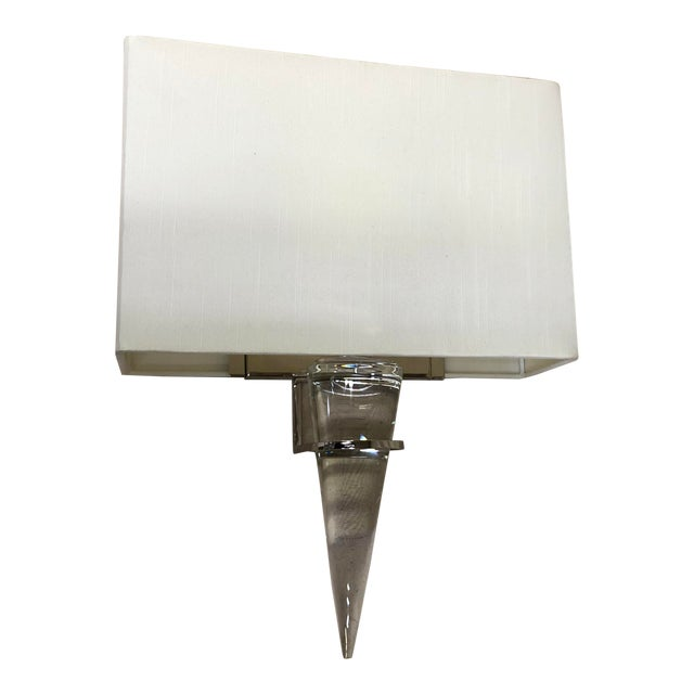 Larsen Wall Sconce by Currey and Company For Sale