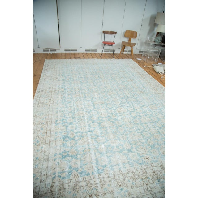 "Distressed Oushak Carpet - 8'10"" X 12'4"" - Image 2 of 10"