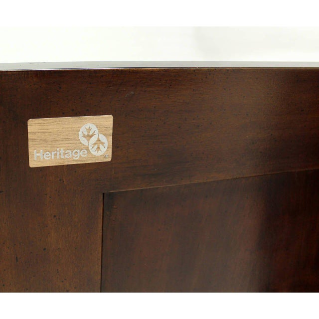 Two Tone Chinoiserie Four Doors Drexel Server Cabinet For Sale In New York - Image 6 of 10