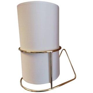 1950s Carl Auböck '4723' Polished Brass Wall Light For Sale