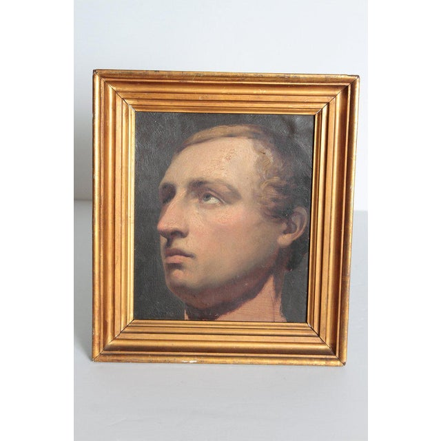 Portrait of a Young Man by Willem Hendrik Schmidt (1809-1849) Dutch For Sale - Image 10 of 13