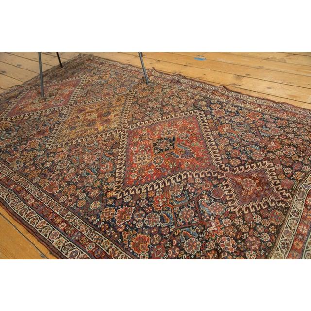 """Antique Persian Qashqai Rug - 3'11"""" x 6'5"""" - Image 5 of 10"""