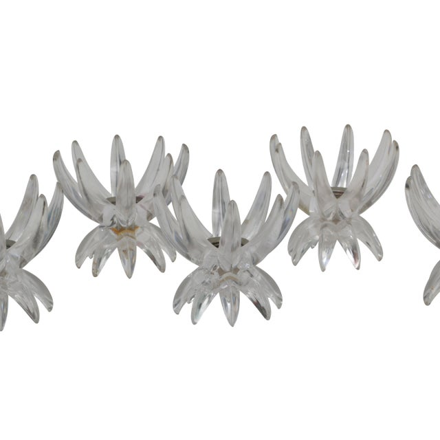 Vintage Acrylic Star Candle Holders - Set of 6 - Image 3 of 4