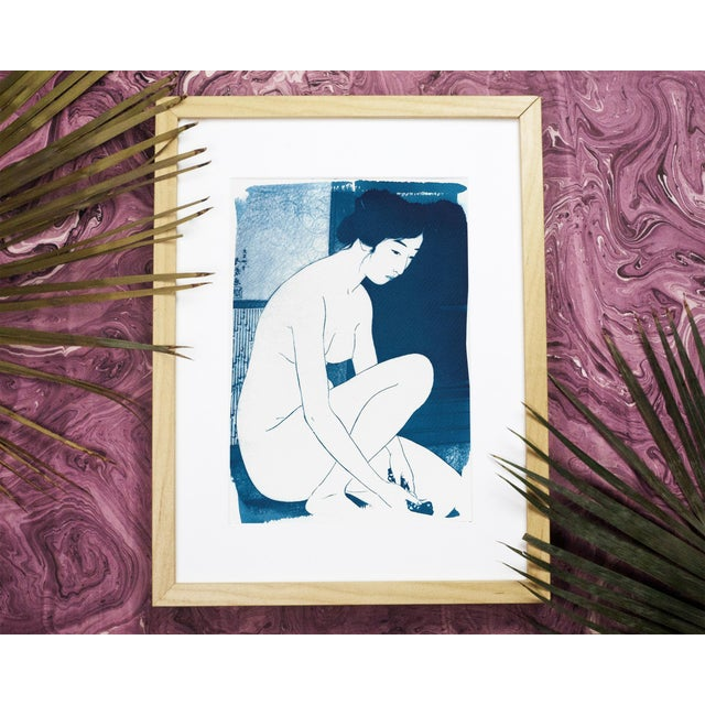 Limited series cyanotype print, handmade and printed under the Sunlight! WHAT YOU'LL GET? _________________________ This...