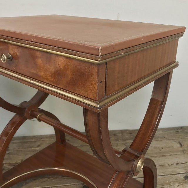 Pair Mid-Century French Charles X Side Tables For Sale - Image 10 of 13