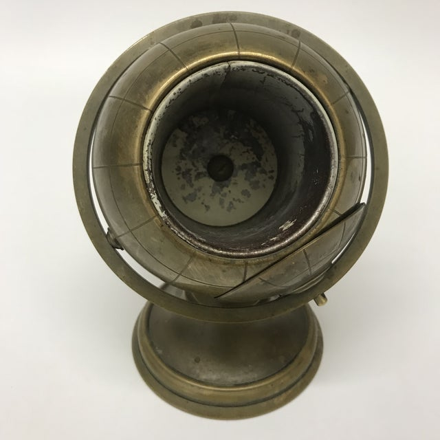 Vintage Brass Globe Ashtray - Image 5 of 5
