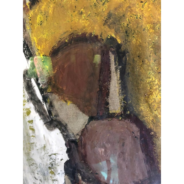 Mixed-Media Painting and Collage by Barcelona Artist For Sale In Philadelphia - Image 6 of 12