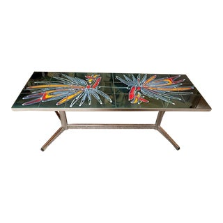 Belgian Mid Century Modern Coffee Table For Sale