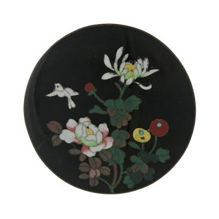 Late 19th Century Vintage Meiji Period Japanese Cloisonne Box For Sale