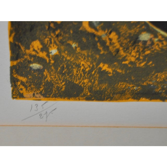 Jean-PIerre Alaux Original Lithograph C.1970 - Image 5 of 9
