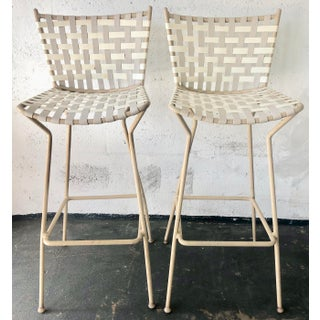 Pair Mid Century Modern Stools Preview