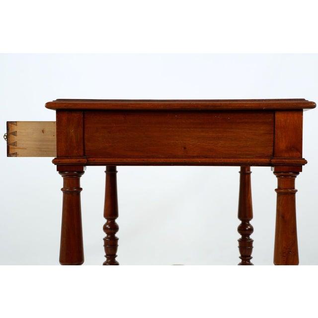English Mahogany Writing Desk - Image 10 of 11